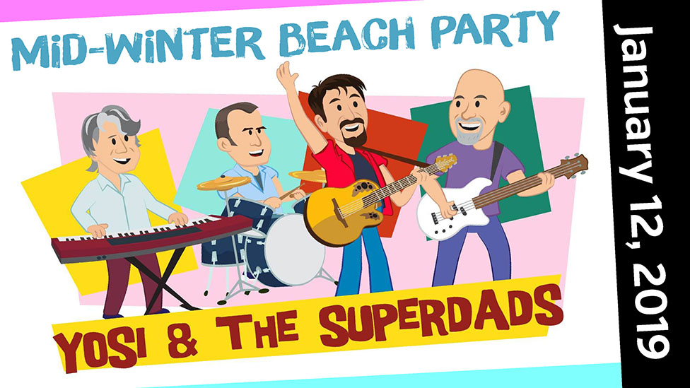 Mid-winter Beach Party